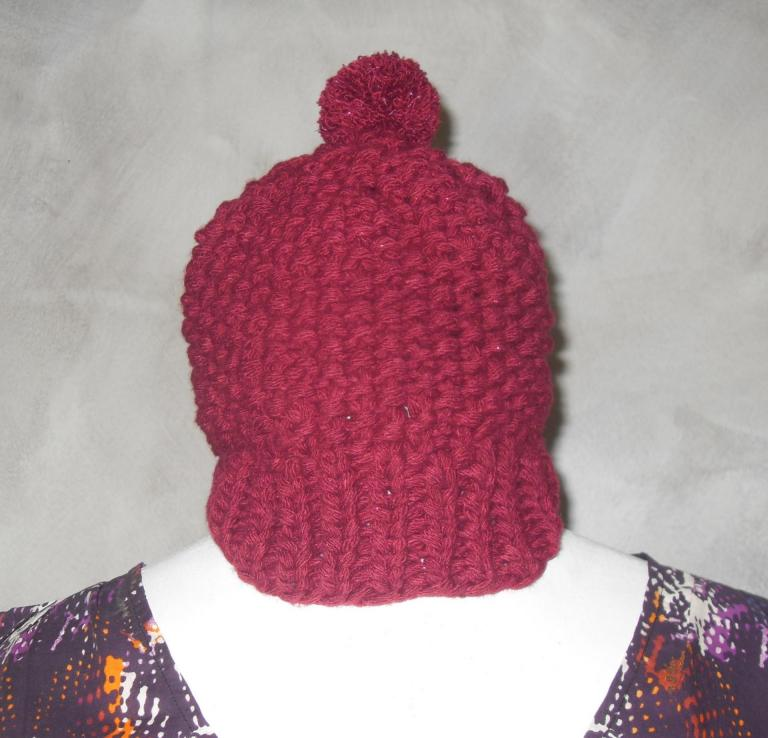 Porte cl bijou de sac kiki bonnet laine rouge pompon et - Clef a laine ...