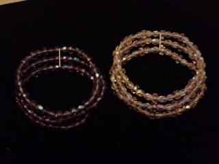 bracelet  en cristal de swarovski.