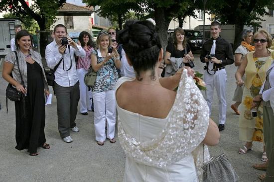 La robe de mariée de Cécile : le jour J.