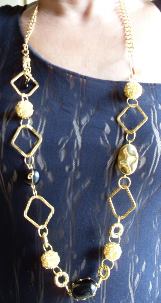 Ceinture - collier, le bijoux 2 en 1 de Patricia !