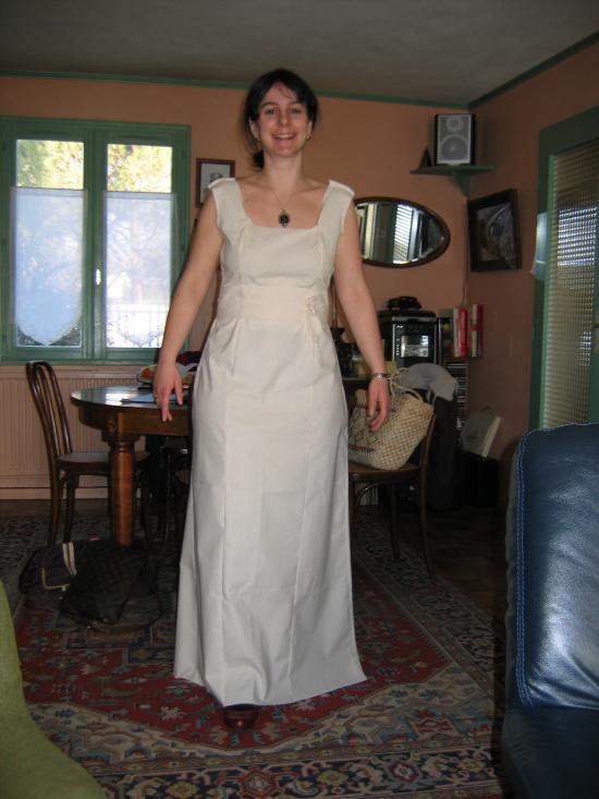 La robe de mariée de Cécile : essayage 3