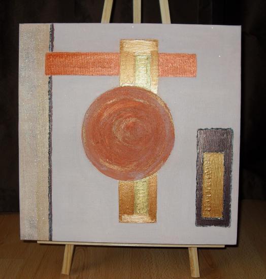 Les tableaux de brigitte, art abstrait et comtemporain.