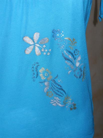 le tee-shirt de Sylvie.