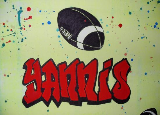 Le tableau de Yannis: Le rugby