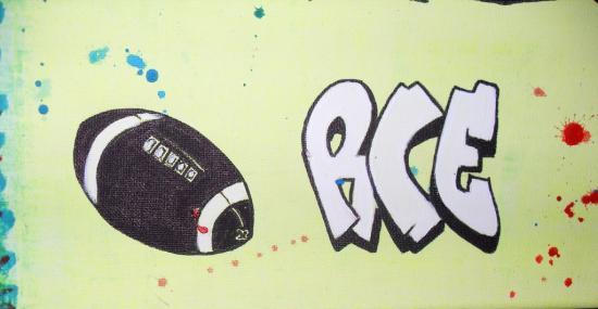 Le tableau de Yannis: rugby, le RCE.