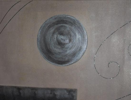 Le tableau de Patricia, art abstrait et comtemporain.