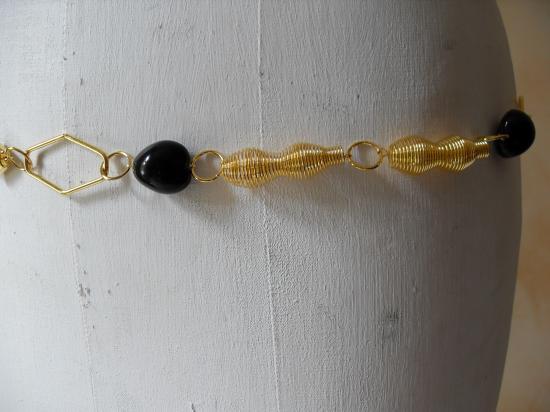 ceinture-bijou dorée spirales zoom
