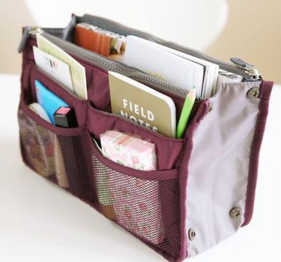 Organisateur de sac, pochette de rangement, multipoches.