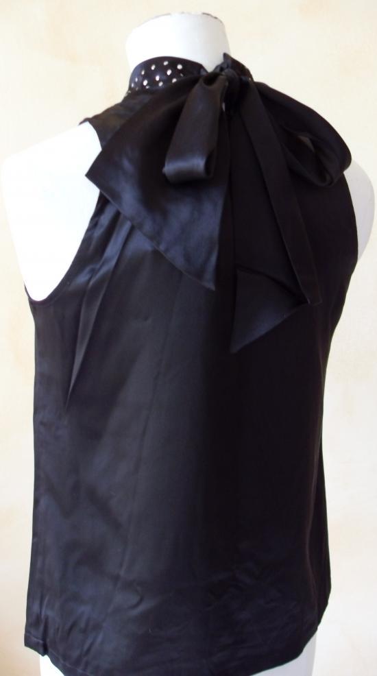 top noir sinequanone noir; DOS