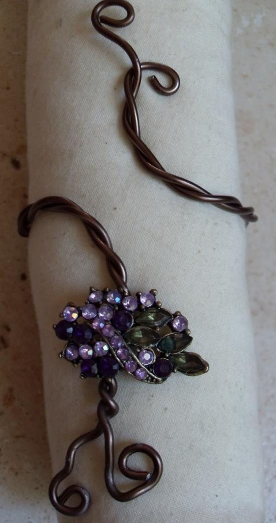 bracelet parrure bronze