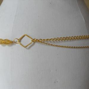 ceinture-bijou dorée spirales dos