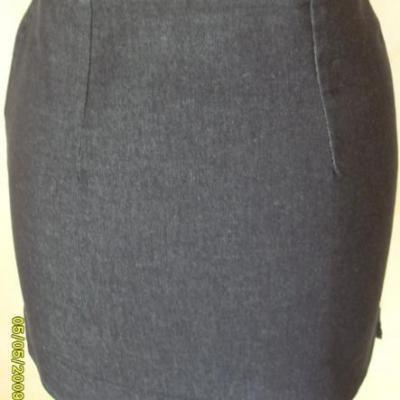 Jupe courte jean's bleue.