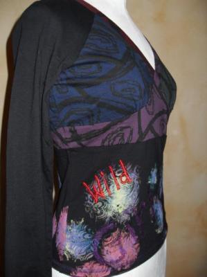 """Tee-shirt Wild Girl de la marque """"FRIME""""."""