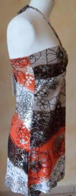 Tunique ISA marron-orange, collection Smash.