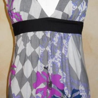 Tunique WABIK, grise et violette de Smash.