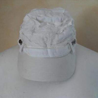Casquette blanche de Smash.