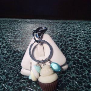 Cupcake gimauve verte