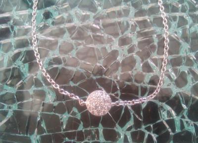 Bracelet argent et cercle oxyde de zirconium
