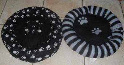 Panier motifs pour animaux, chats, chiens.