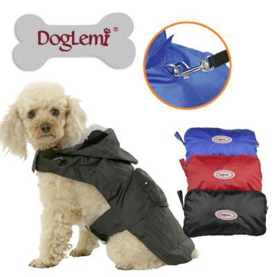 Vêtement chien, K-way imperméable- pochette.